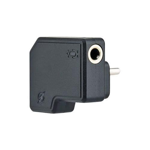 Adaptateur De Port Microphone 3,5 Mm / Port Usb-C Pour Caméra Dji Osmo Action